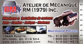 Atelier de mecanique RM (1979) Inc
