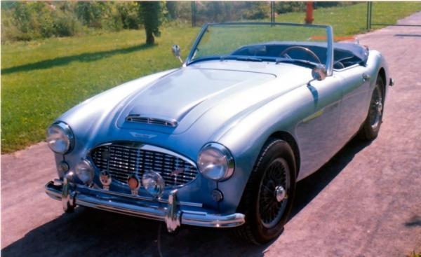 austin healey bt7 1961 voitures anciennes et classiques. Black Bedroom Furniture Sets. Home Design Ideas