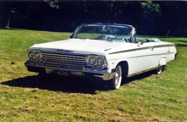 chevrolet impala 1962 d capotable voitures anciennes et classiques de montreal inc. Black Bedroom Furniture Sets. Home Design Ideas