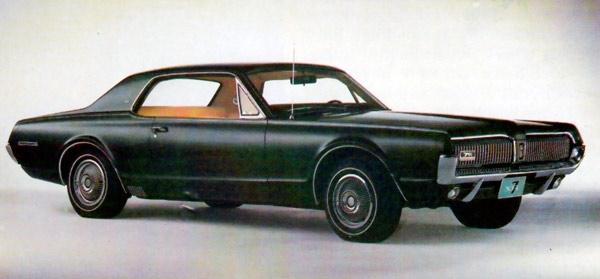 mercury cougar 1967 68 voitures anciennes et classiques de montreal inc. Black Bedroom Furniture Sets. Home Design Ideas