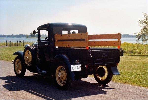 ford modele a p up 1931 voitures anciennes et classiques de montreal inc. Black Bedroom Furniture Sets. Home Design Ideas